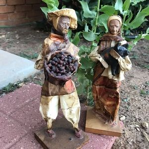 Mexico Paper Mache Man and Woman